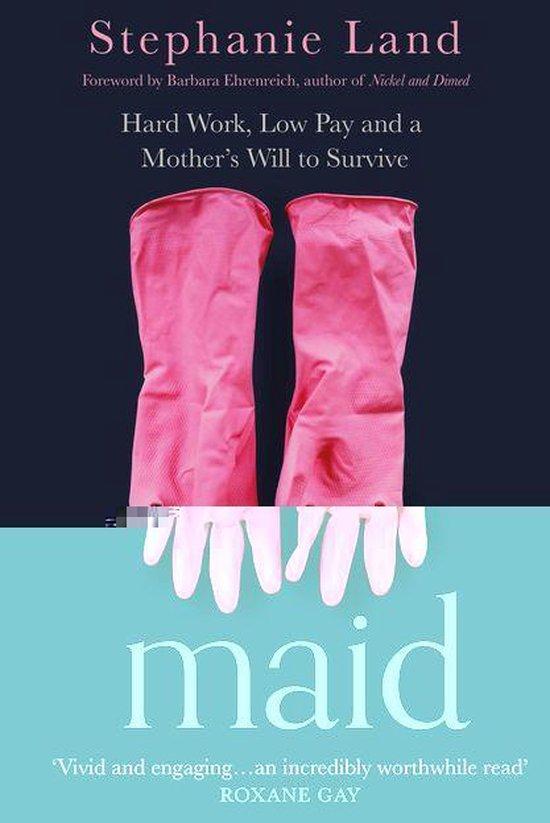 Boek cover Maid van Stephanie Land (Onbekend)