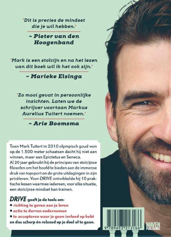 Boek cover DRIVE: Train je stoïcijnse mindset van Mark Tuitert (Hardcover)