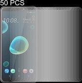 Let op type!! 50 stuks 0 26 mm 9H 2.5D getemperd glas Film voor HTC Desire 12 +