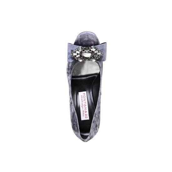 Fontana 2.0 - Hoge hakken - Vrouw - CHRIS - lightslategraysilver Culs1RCo