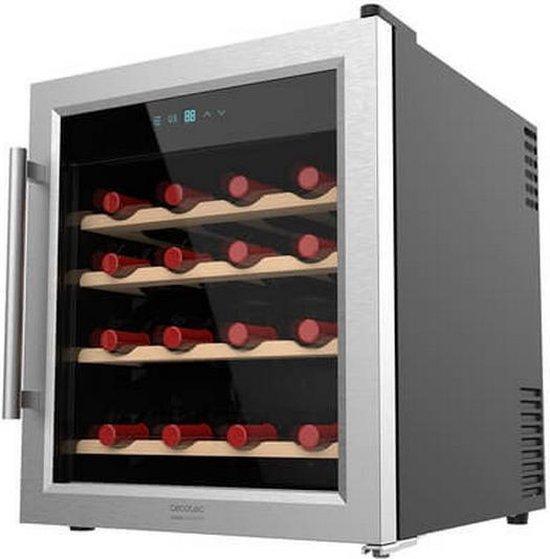 Koelkast: Cecotec Grand Sommelier - 1600 SilenceWood - Wijnkoelkast, van het merk CECOTEC