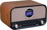 Roadstar HRA-1782D Retro Radio met Bluetooth, DAB+ en CD Speler - Bruin