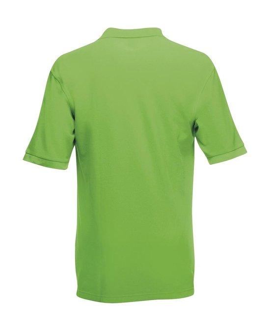 Fruit of the Loom Premium Polo Shirt Lime M