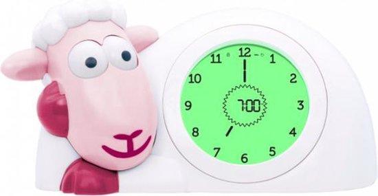 Zazu Sam Slaaptrainer - Met nachtlamp functie en slaaptimers -  Roze / Wit