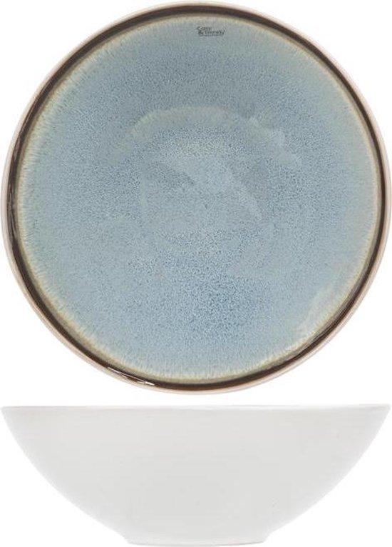 Cosy & Trendy Fez Blue Diep Bord & Schaal - Ø18 cm - Set van 6