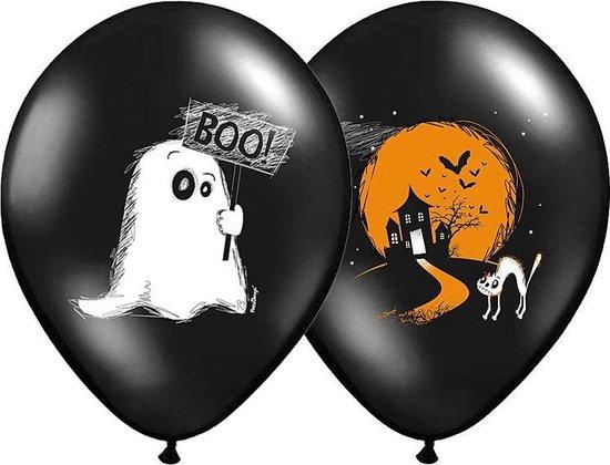 Halloween Ballonnen BOO! 30cm 6 stuks