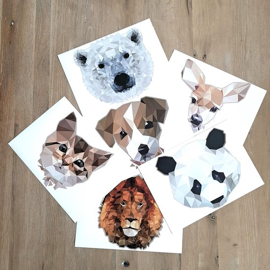 Rock that Wall muursticker puppy uit de Diamond Mini Collectie