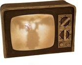 Televisiescherm decoratie met licht en geluid - Feestdecoratievoorwerp