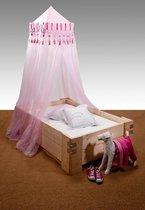 Deconet'CRUSADER'® polyester-klamboe-roze/fuchsia