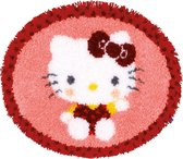 Knoopvormtapijt kit Hello Kitty in de bakkerij I - Vervaco - PN-0154948