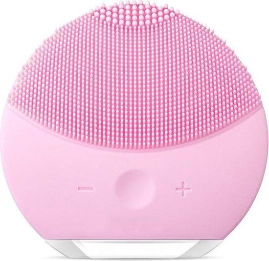 FettleLife™ Glow - Gezichtsborstel  met Gezichtsmassage - Gezichtsreinigingsborstel Facial Cleanser en Mee-eter verwijderaar (Roze)