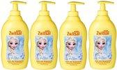 Zwitsal Shampoo Kids Frozen Anti Klit - 4 x 400 ml Voordeelverpakking