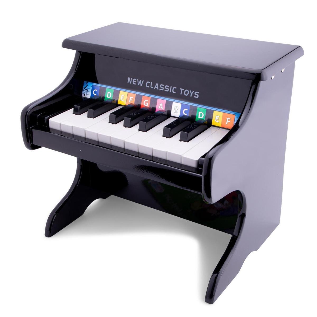 New Classic Toys - Speelgoed Piano - Zwart