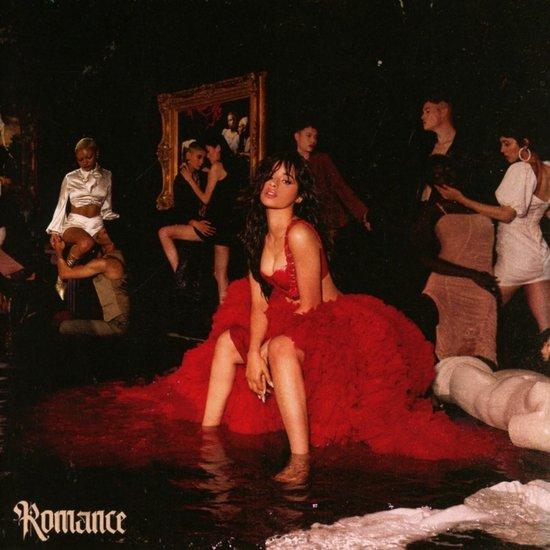 CD cover van Romance van Camila Cabello