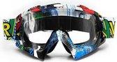 Motorcross - Skibril - Anti condens - UV werend - Unisex Wintersport Bril - Volwassenen
