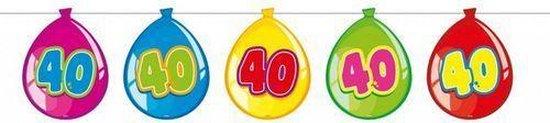Slingers 40 Jaar Ballonnen 10m