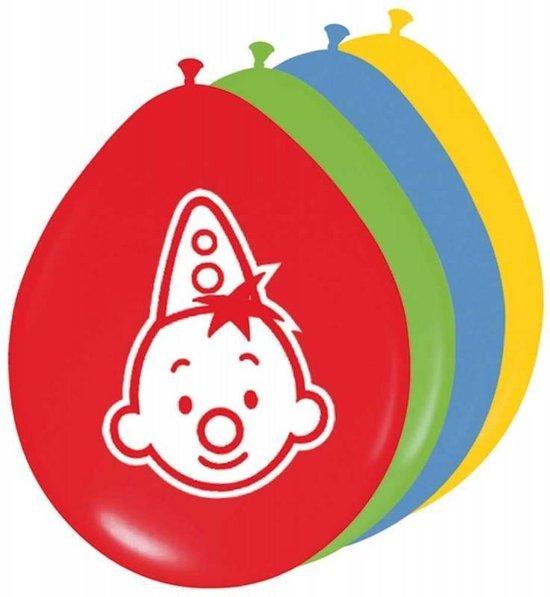 8x Ballonnen Bumba