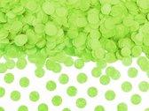 Lime Groene Confetti 1,6cm 15gr