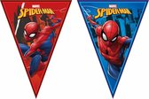 PROCOS - Spiderman vlaggenslinger - Decoratie > Slingers en hangdecoraties