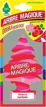 Arbre Magique Luchtverfrisser 12 X 7 Cm Voilet & Gardenia  Roze