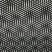 AutoStyle Racegaas aluminium - ruitdesign 11x5mm - 125x25cm