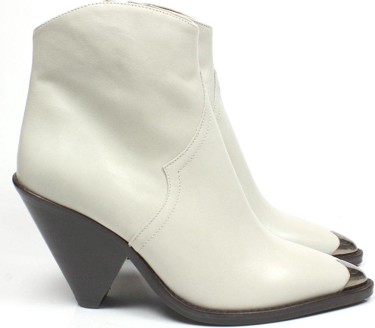 | Toral 12369 dames boots gebroken wit offwhite