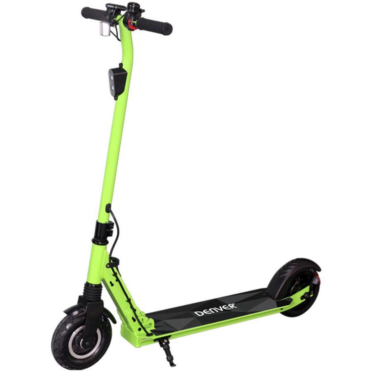 """Denver SEL-80130 Elektrische step voor kinderen & volwassenen 8"""""""" Wielen 20 km/u E-Step met aluminium frame actieradius 12KM Inklapbaar Met LED verlichting voor & achter E-Scooter Groen online kopen"""