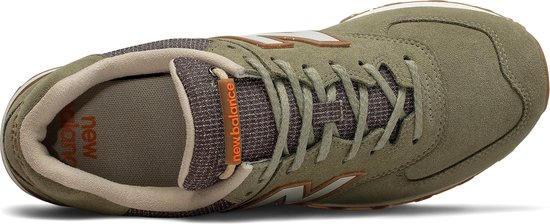 New Balance ML574 D Heren Sneakers - Green - Maat 43