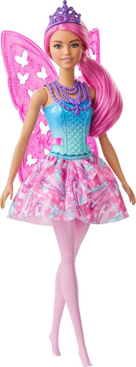 Barbie Dreamtopia Fee (Roze) - Barbiepop