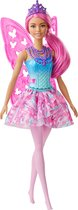 Barbie Dreamtopia Fee (Roze) - Barbiepop
