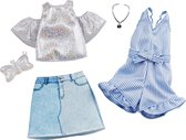 Barbie Fashions outfits 2-pack Denim & Sparkle