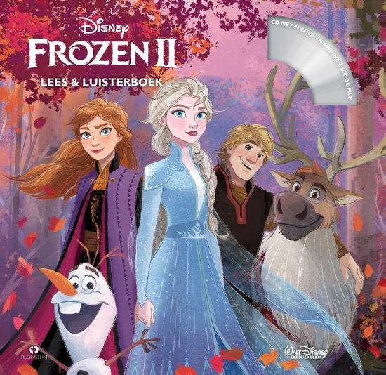 CD cover van Frozen 2 van Walt Disney Animation Studio