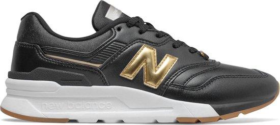 New Balance 997 Sneakers - Maat 40 - Vrouwen - zwart/wit/goud