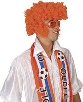 Oranje Pruik Rock Star | Feestartikelen voor EK Voetbal 2021