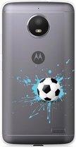 Motorola Moto E4 Hoesje Soccer Ball