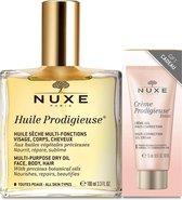 Nuxe Huile Prodigieuse Normale en gecombineerde huid 100 ml + Crème Prodigieuse Boost Cream 15 ml
