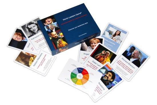 Coachingskaarten - World Leaders Game | Leiderschapsontwikkeling voor coaches en managers - Rob Kwakkelstein |