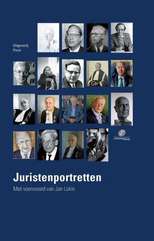 Boek cover Juristenportretten van  (Hardcover)