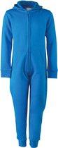 Kids all-in-one onesie kinderen - sapphire blue - 11/12 jaar