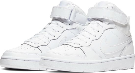 Nike Court Borough Mid 2 (GS) Sneakers - Maat 39 - Unisex - wit