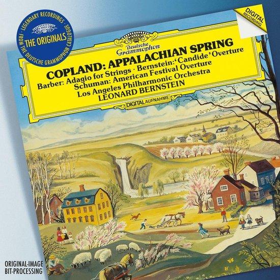 CD cover van Originals: Appalachian Spring/American Festival Ov van Los Angeles Philharmonic