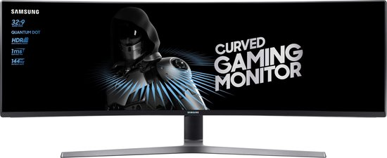 Samsung C49HG90DMU - Curved Dual HD VA Gaming Monitor (144 Hz)