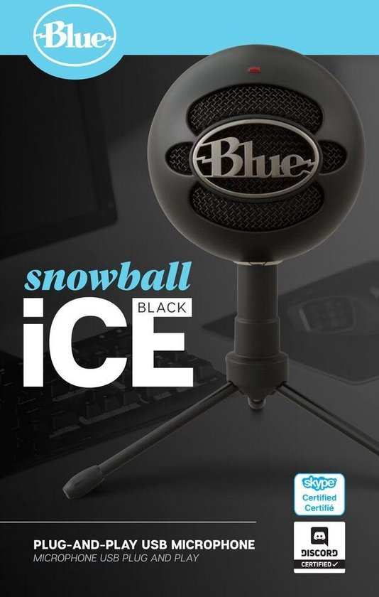 Snowball iCE Streaming Microfoon - Black