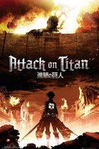 ATTACK ON TITAN - Poster 61X91 - Key Art