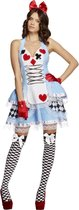 Alice in Wonderland kostuum | Halternek jurkje maat M (40-42)