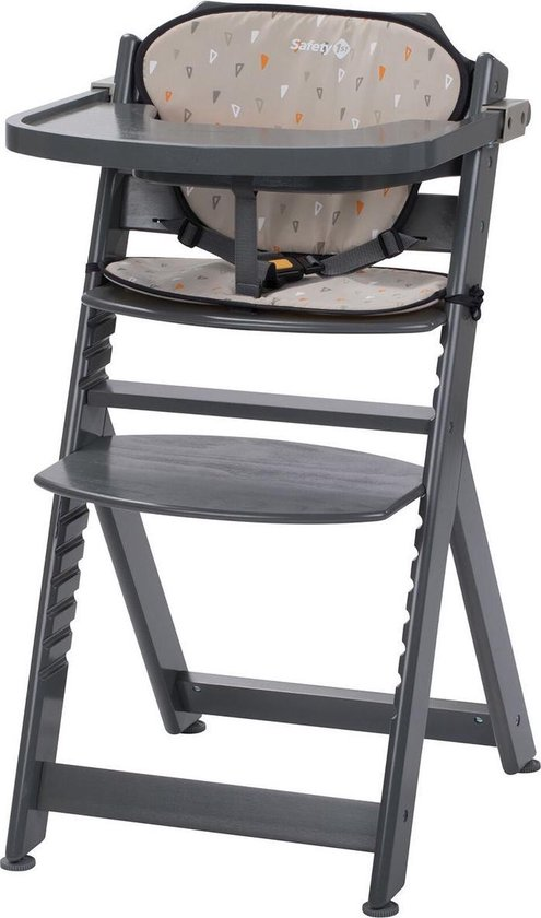 Safety 1st Timba Kinderstoel - Met Kussen - Warm Grey Wood/Warm Grey - 2019 - Safety 1st