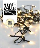 Nampook Kerstboomverlichting - 18 meter - 240 warm