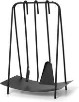 Ferm Living Port Haardset Haarstel in Roestvrij staal :  Zwart