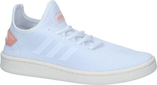Witte Slip-on Sneakers Adidas Court Adapt Dames 41