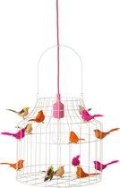 meisjeskamer hanglamp roze   neon   babykamer   speelhoek óf werkplek